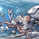 Sobering Illustrations Depict Life On Earth If Animals Acted Like Humans