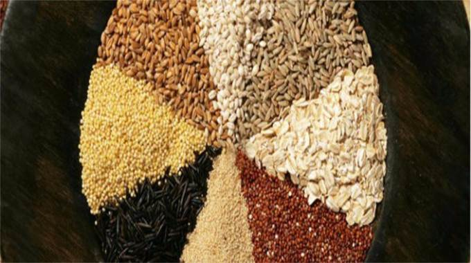 Food grain bowl-compressed