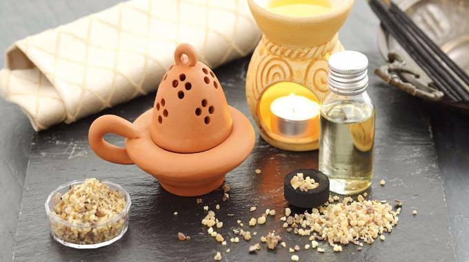 Frankincense Oil-compressed