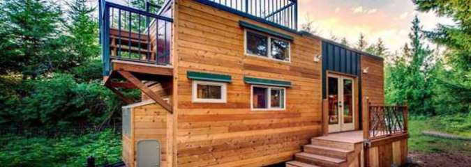 If You Love the Outdoors, Here's Your Dream Tiny House!