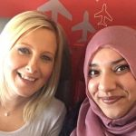 Passenger Afraid to Sit Beside Muslim Woman on a Flight, Muslim Woman Responded by Striking Up Brilliant Friendship