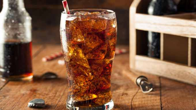 high fructose corn syrup soda