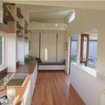 Check Out this Tiny Home with a Sleek, Modern Look and Retractable Bed