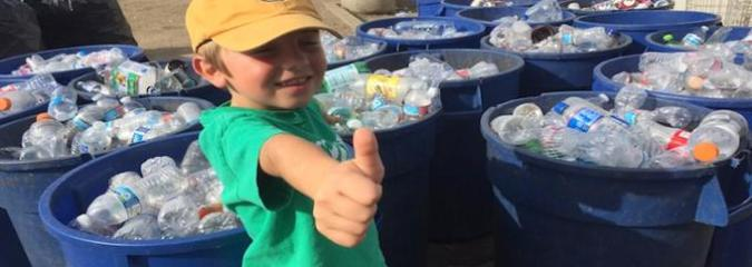 7-Year-Old Boy Turns His Passion For Recycling Into A Full-On Business