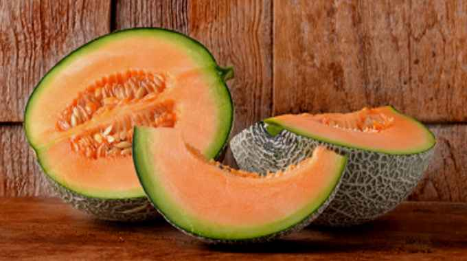 6 Little Known Reasons To Eat Cantaloupe This Season Conscious Life News Fresh cantaloupe in lime yogurt cardamom dressing, exotic fruit in brandy snap baskets, hamburger & potatoes eat cantaloupe this season
