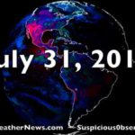 USA Hits Cosmic Ray Max, Lightning, Deadly Hail, Colliding Stars, New Understanding of Deep Earthquakes   S0 News Jul.31.2018