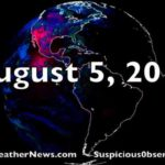 Coronal Hole, Tornadoes Touch Down in Massachusetts and Connecticut, Global Models Fail | S0 News Aug.5.2018