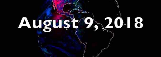 Solar Polar Fields Spiking, Planets Aligned, Rinjani Volcano Quake | S0 News Aug.9.2018