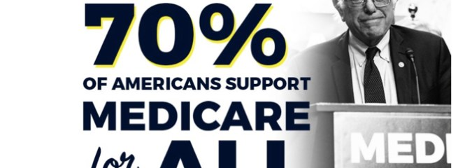 'Incredible': New Poll That Shows 70% of Americans Support Medicare for All Includes 84% of Democrats and 52% of Republicans