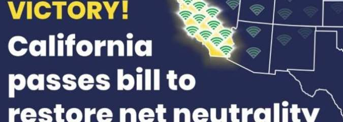 'Massive Victory for the Whole Internet' as California Passes Nation's Strongest Net Neutrality Bill