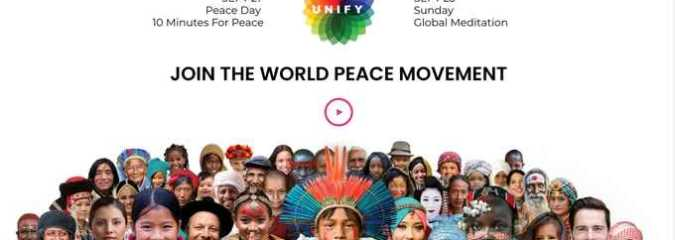 Sept 21-23: A Weekend for Peace Culminating With the World's Largest Peace Meditation on Sunday