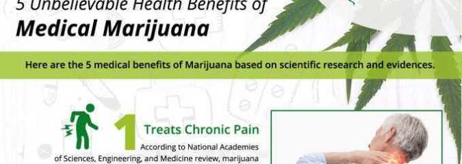 5 Unbelievable Health Benefits of Medical Marijuana