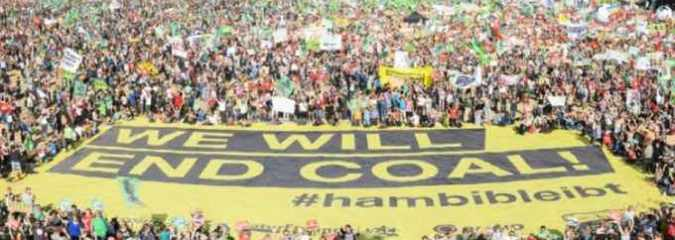Fifty-Thousand Come Together in Germany to Defend Ancient Forest and Fight Coal