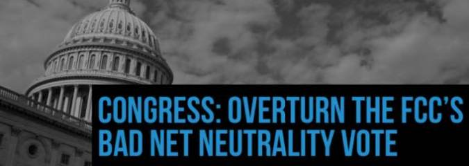 Net Neutrality Defenders Announce 'Epic Final Protest' to Demand Congress Repeal FCC Rollback Before Fast-Approaching Deadline