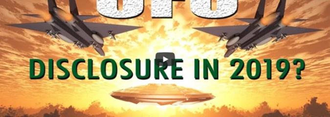 Will UFO Disclosure be on its way in 2019?