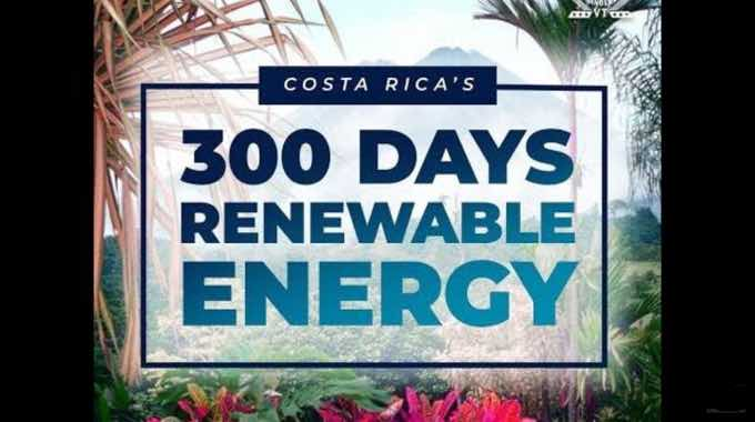 WATCH: Costa Rica Goes 300 Days on Renewable Energy Sources [1-Min Video]