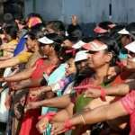 """Historic Moment for Equality in India as Millions Link Arms to Form 400-Mile """"Women's Wall"""""""