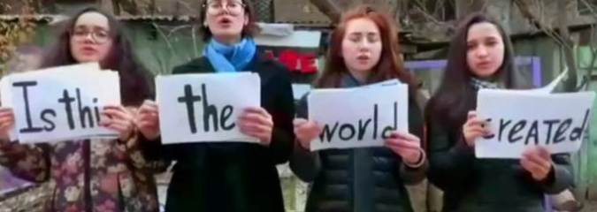 #InThisTogether – Is This The World We Created? [Queen Music Video Supporting the Children in Greek Refugee Camps]