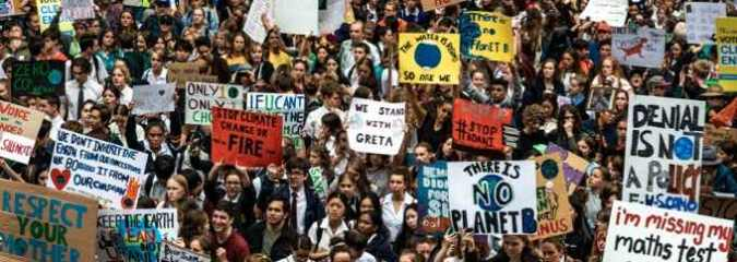 """We are unstoppable"": Youth-Led Global Climate Strikes Kick Off in 130+ Nations"