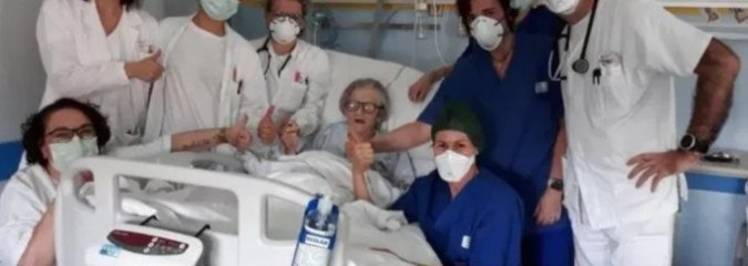 Grandmother, Age 95, Becomes Oldest Woman in Italy to Recover From Coronavirus