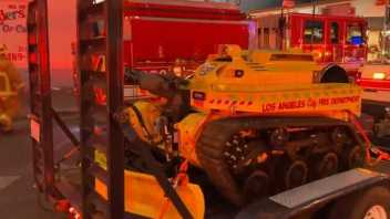 The LAFD Has Hired The First Ever Firefighting Robot In The USA