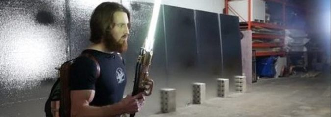 Engineer Creates Fully Functional 'Star Wars' Lightsaber That Cuts Through Steel
