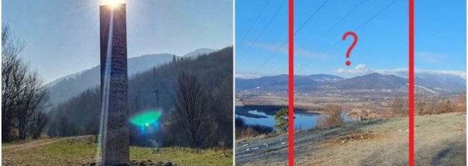Mysterious Monolith in Romania Disappears Overnight, Just Days After It Was Discovered
