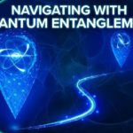 Navigating with Quantum Entanglement