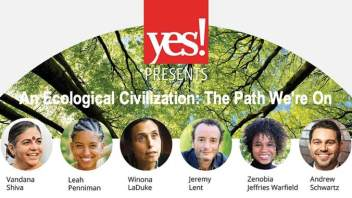 YES! Presents 'An Ecological Civilization: The Path We're On' on 25-FEB (Free Event)