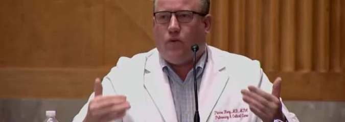 Frustrated Doctor Tells Congress He is Tired of Watching People Die When There Are Cures for COVID!