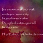 Whirlwind of Hope | Hopi Wisdom