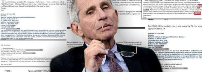 Fauci Emails: How Top Public Health Officials Spun Tangled Web of Lies Around COVID Origin, Treatments