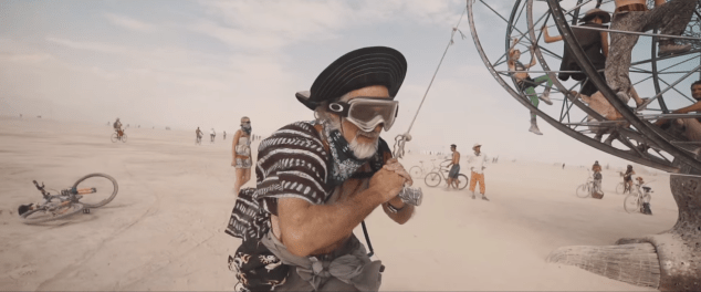 Burning Man Festival 2014