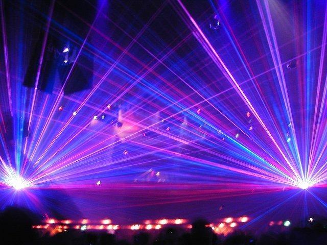 Nusalt Laser Lightshows