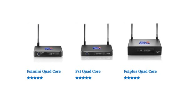Fs1 Series from FOMOstream Android TV Box