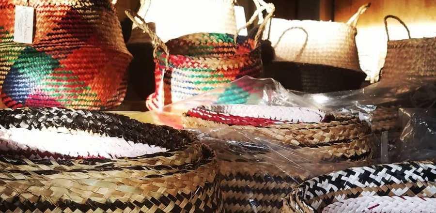 Leonard & Hazel™ Seagrass Baskets