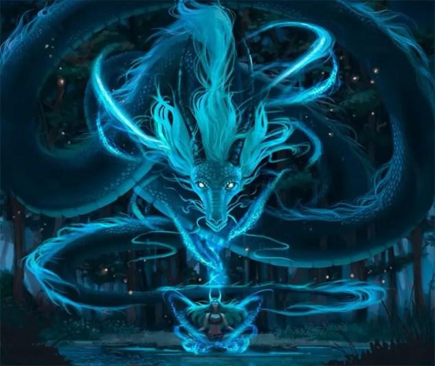 The Sacred Kundalini Dragon Snake - Enlightenment Meditation