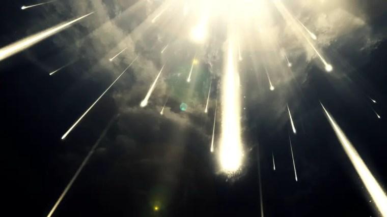 Image result for fantasy meteor storm
