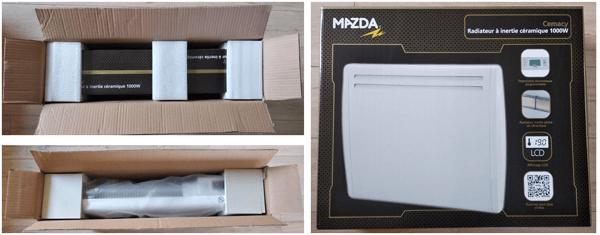 Test Du Radiateur Electrique Mazda Pas Mal Pour Le Prix Conseils Thermiques