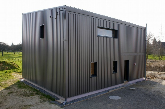 plan maison avec garage