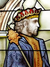 à quoi sert le storytelling _ gravure d'un roi couronné