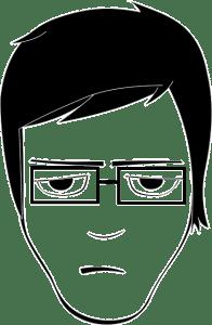 comment réussir son entretien de recrutement - dessin d'un homme déçu après une réponse négative.