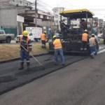 Programa de reparación de vialidades de Valle Dorado
