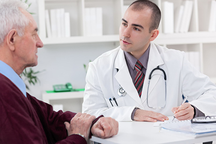Image result for images of a doctor and a sick man