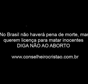 Diga nC3A3o ao aborto - Dep. Marcos Rogério Fala Contra o Aborto em Audiência Pública