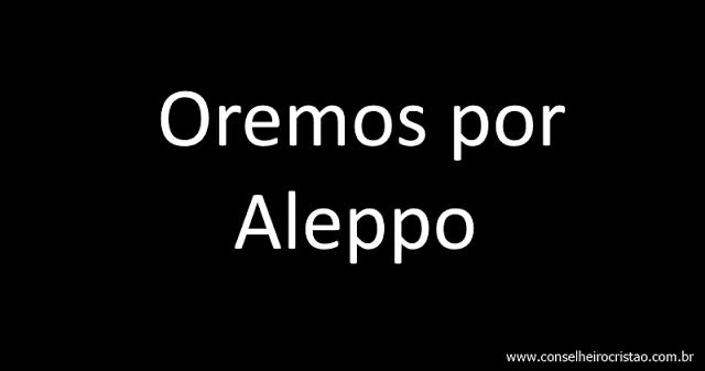 OremposporAleppo - Oremos por Aleppo