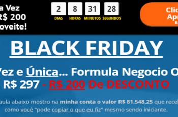 Curso Top 1 No Brasil | Formula Negócio Online| R$ 200,00 de Desconto
