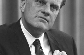 Morre Billy Graham aos Seus 99 Anos, Evangelista
