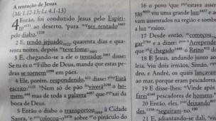 Versículo Para Novo Convertido Ler em Mateus