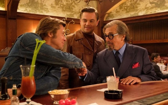 Once Upon A Time In Hollywood Sony Leonardo Dicaprio Al Pacino Brad